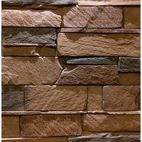 """Декоративно-облицовочный камень """" ГРОТ """" GR-82/R (0,495 М2) плоскостной, фото 1"""