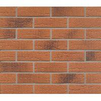 Клинкерная плитка Feldhaus Klinker R228NF9 Terracota rustico carbo Красная Рельефная, фото 1