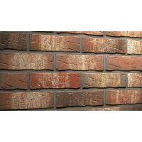 Клинкерная плитка Feldhaus Klinker R658NF14 Sintra ardor belino Красная Ручная формовка, фото 1