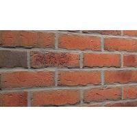 Клинкерная плитка Feldhaus Klinker R698NF14 Sintra terracotta bario Красная Ручная формовка, фото 1