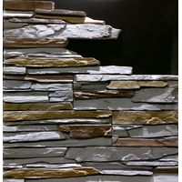 """Декоративно-облицовочный камень """" СКАЛА """" SK-72/R (0,495 М2) плоскостной, фото 1"""