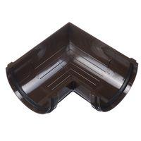 Угловой элемент 90д D=120мм шоколад (коричневый), фото 1
