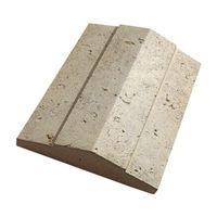 Накрывочная плита 2-х скатная «Тиволи» White Hills 50х32см 903-40 (коричневый с красно-коричневыми и темно-коричневыми подпалинами), фото 1