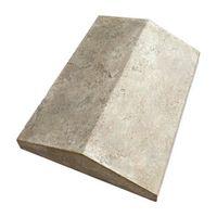 Накрывочная плита 2-х скатная «Тиволи» White Hills 50х32см 936-80 (серый с черными и желтыми подпалинами), фото 1