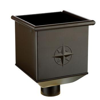 Воронка водосборная RR32 коричневый, фото 1