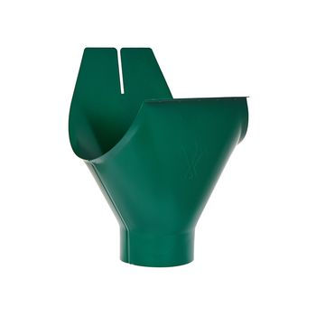 Воронка желоба RAL6005 зеленый, фото 1