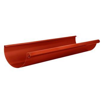 Желоб водосточный L=3м RR29 красный, фото 1