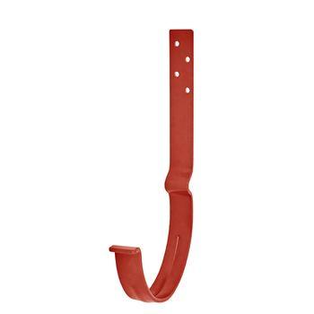 Крюк крепления желоба длинный RR29 красный, фото 1