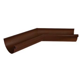 Угол желоба внутренний 135 д RAL8017 коричневый, фото 1