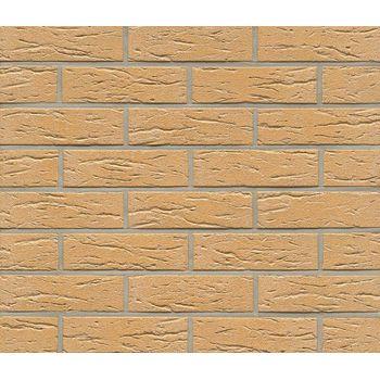 Клинкерная плитка Feldhaus Klinker R216NF9 Amari mana Желтая Рельефная, фото 1
