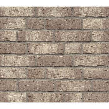 Клинкерная плитка Feldhaus Klinker R682NF14 Sintra argo blanco Серая Ручная формовка, фото 1