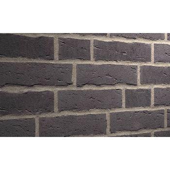 Клинкерная плитка Feldhaus Klinker R693NF14 Sintra vulcano Черная Ручная формовка, фото 1