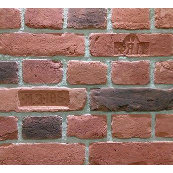 """Декоративно-облицовочный камень """" Кирпич Старый Питер """"  SP-63/R (1М2) плоскостной, фото 1"""