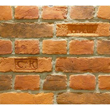 """Декоративно-облицовочный камень """" Кирпич Старый Питер """"  SP-64/R (1М2) плоскостной, фото 1"""