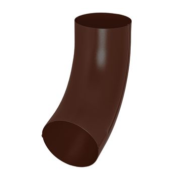 Колено универсальное RAL8017 коричневый, фото 1
