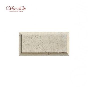 Рустовые камни 30х14,2см 853-10 (бежевый) рядовой, фото 1