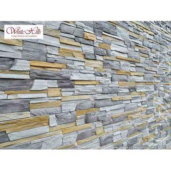 Искусственный камень для вентилируемых фасадов Фьорд Лэнд F208-80-0,40 плоскостной, фото 4