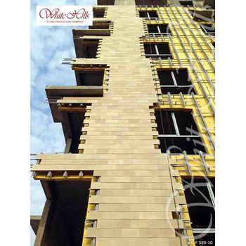Искусственный камень для вентилируемых фасадов Тиволи F550-10-0,672 плоскостной, фото 2