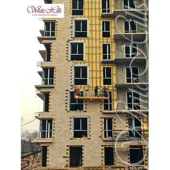 Искусственный камень для вентилируемых фасадов Тиволи F550-10-0,672 плоскостной, фото 4