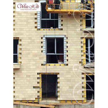 Искусственный камень для вентилируемых фасадов Тиволи F550-10-0,672 плоскостной, фото 5