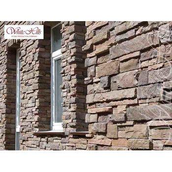 Искусственный камень для вентилируемых фасадов Уайт Клиффс F152-90-0,35 плоскостной, фото 4