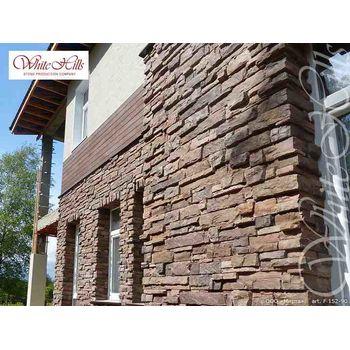 Искусственный камень для вентилируемых фасадов Уайт Клиффс F152-90-0,35 плоскостной, фото 5