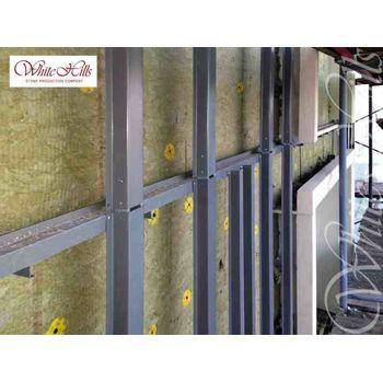 Плитка для вентилируемых фасадов Уайт Клиффс F150-10-0,35, фото 2