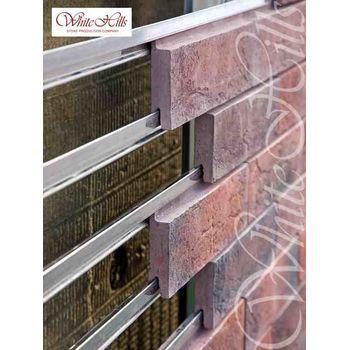 Плитка для вентилируемых фасадов Уайт Клиффс F152-10-0,35, фото 2